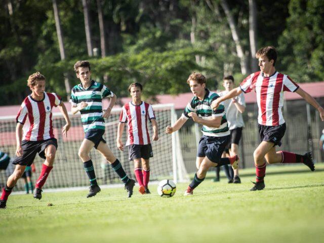 Soccer at Flinders Sports Oval