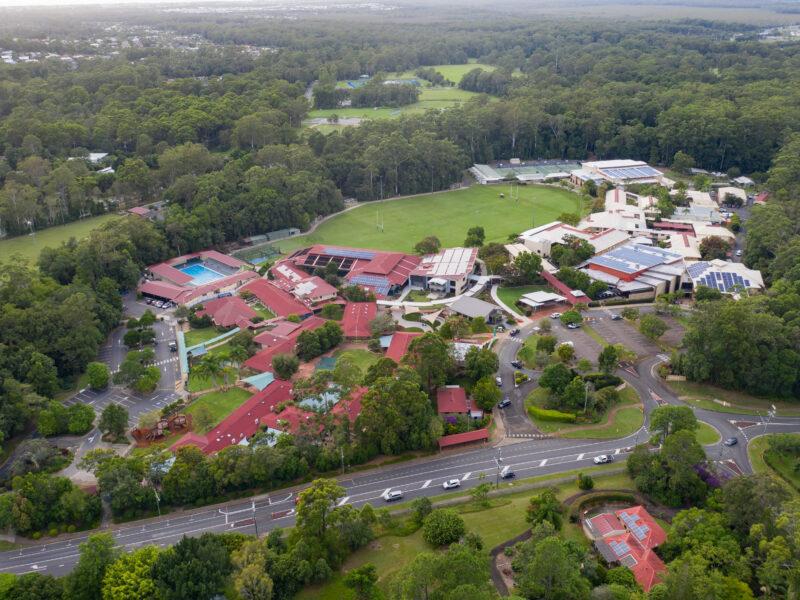 Flinders campus aerial photograph 2021