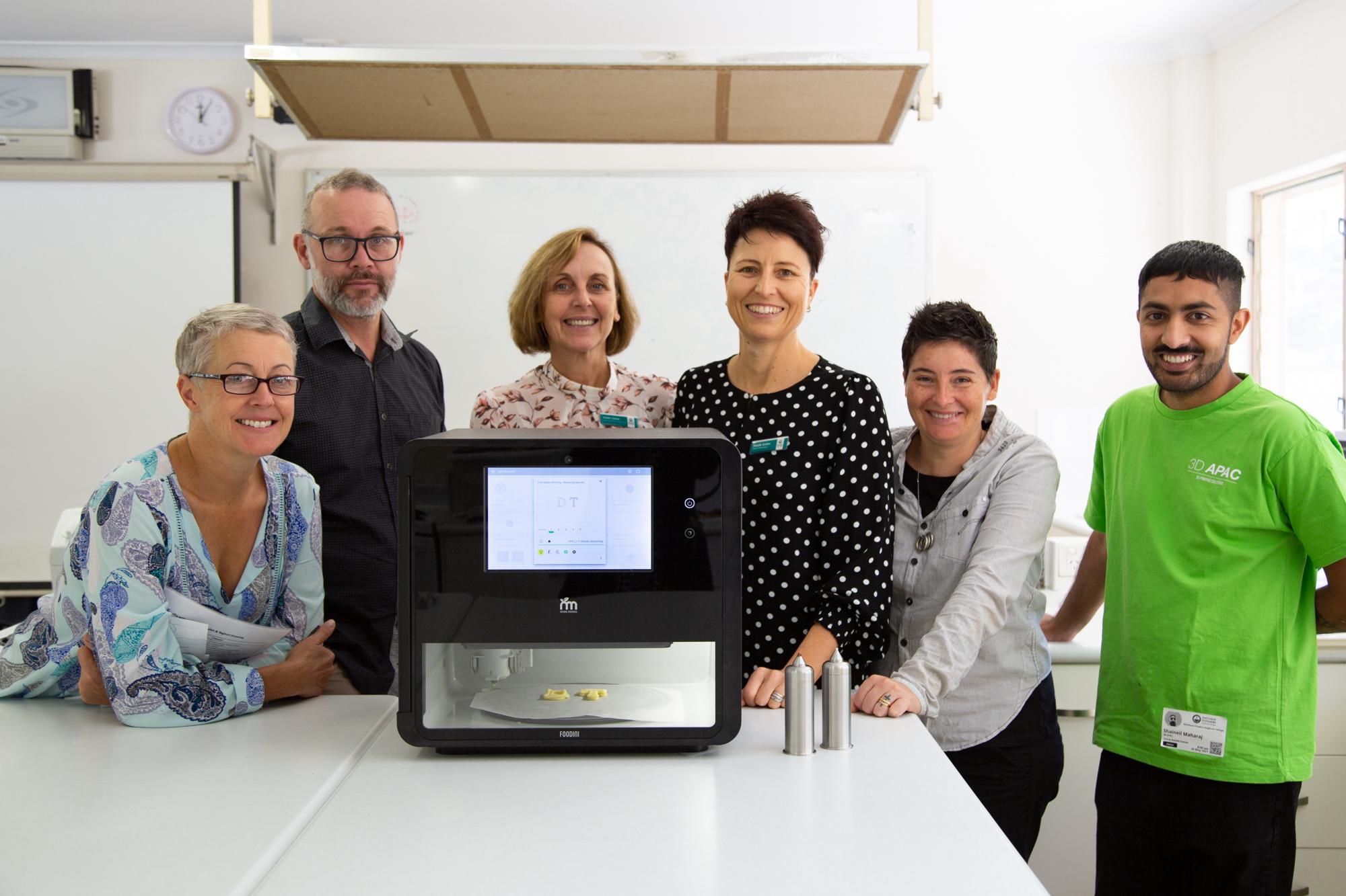 Flinders new 3D Food Printer