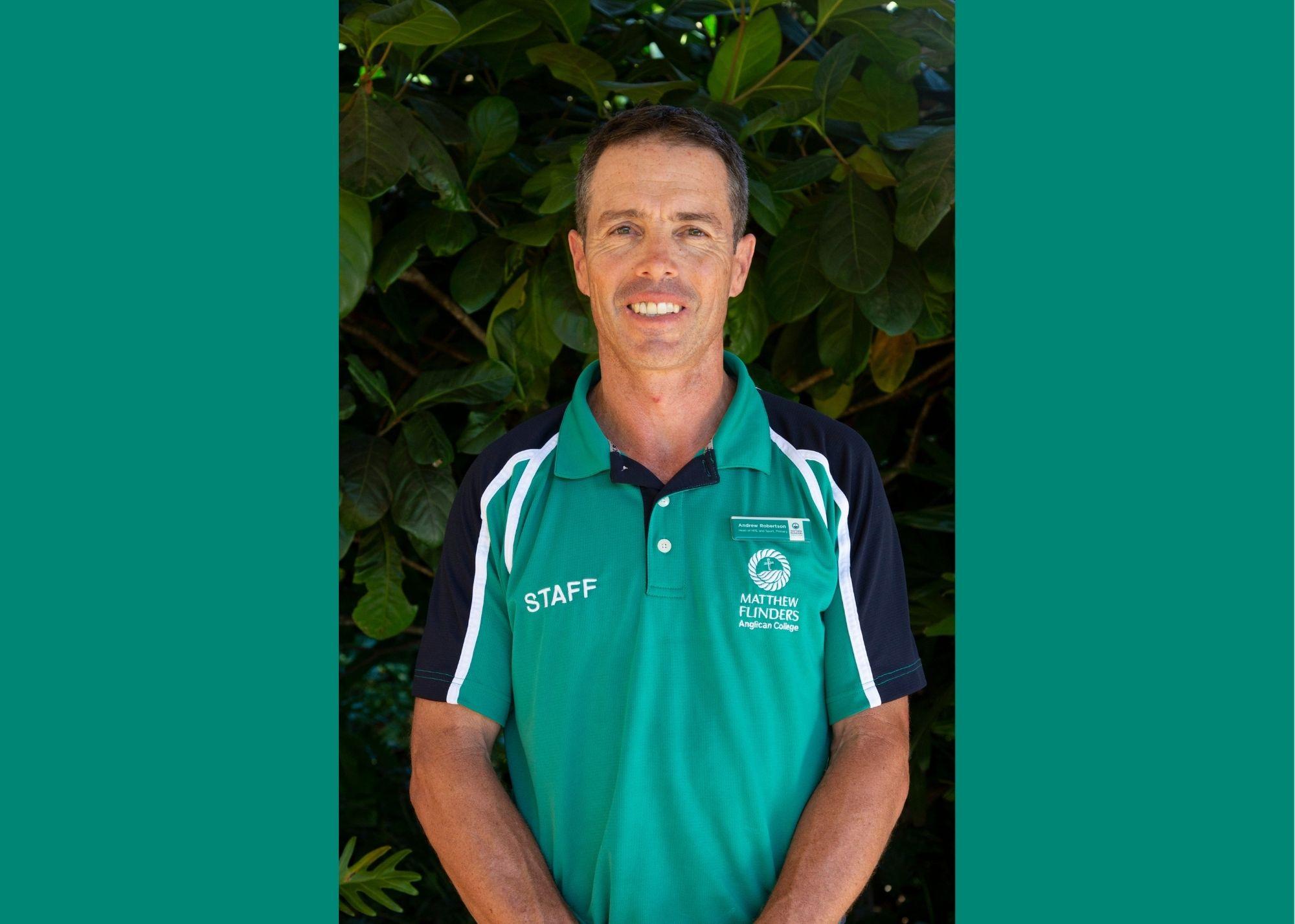 Andrew Robertson Flinders staff profile