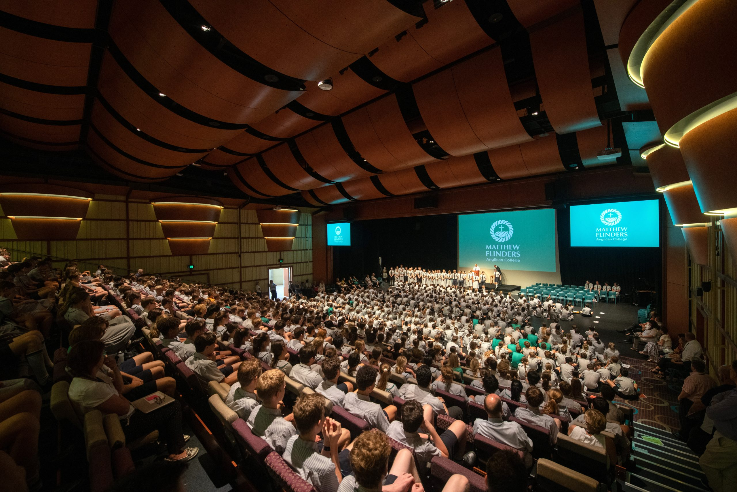 Flinders Performance Centre assembly