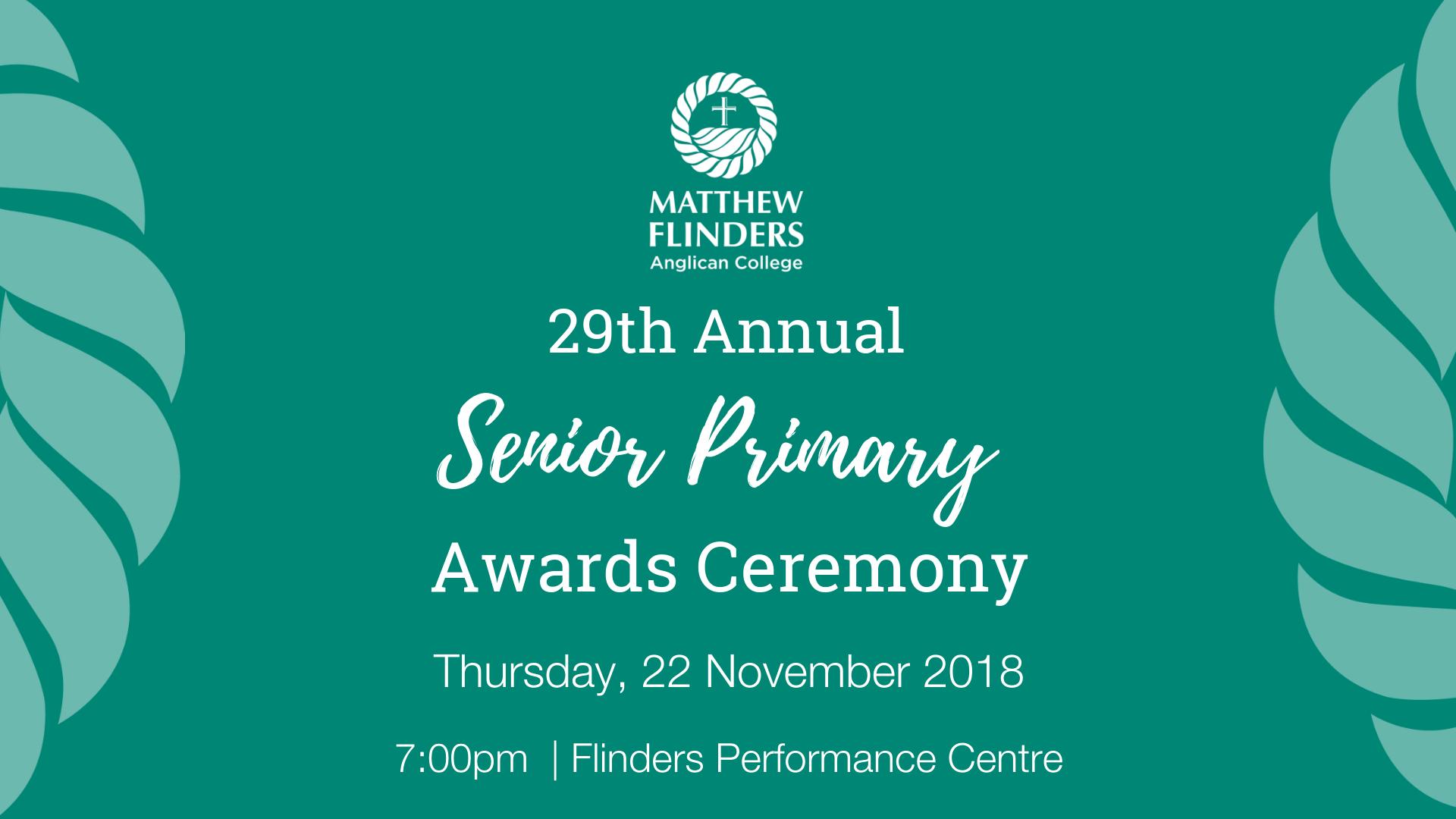 Senior Primary Awards Night