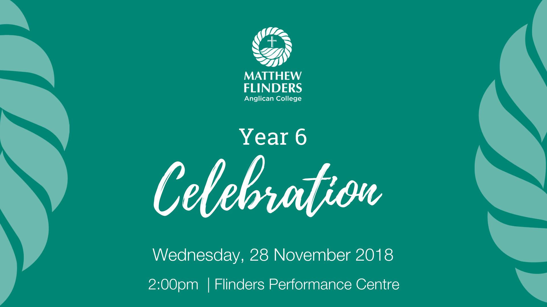 MFAC Year 6 Celebration