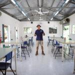 Flinders Farm manager Jeff Maclennan