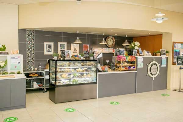 Quarterdeck Cafe at Flinders