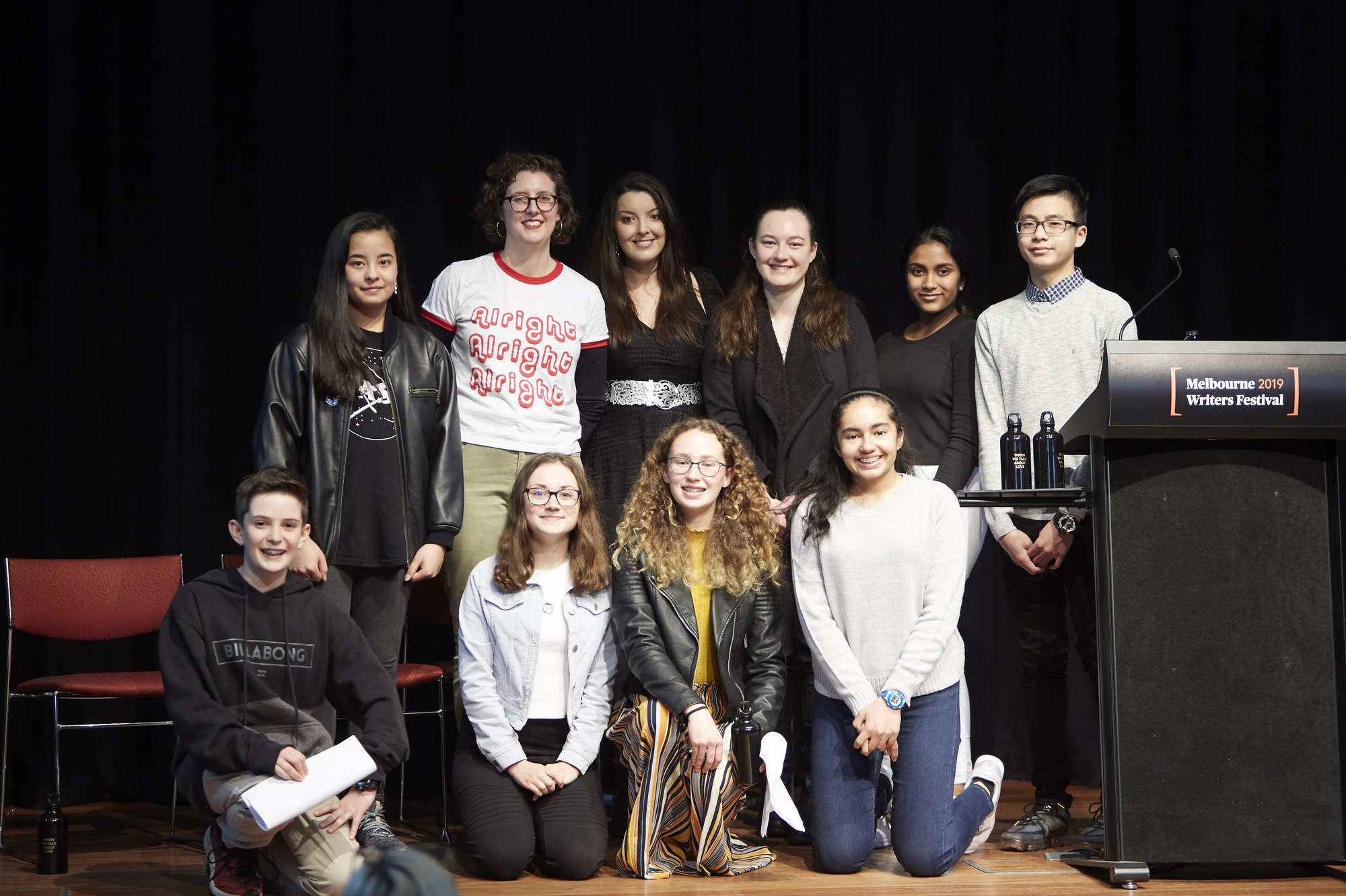 Flinders students judges Inky Awards