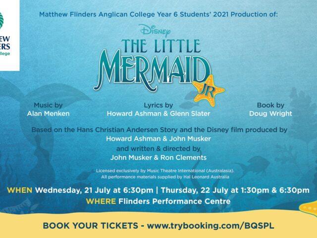 The Little Mermaid JR at Flinders