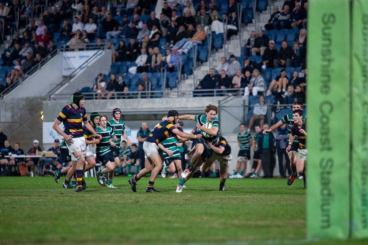 Flinders rugby match