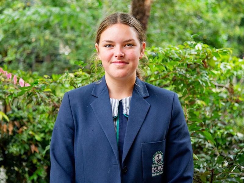 Kirra Tappenden FEAP student athlete